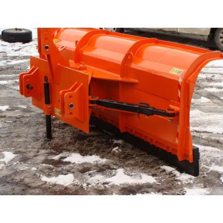 Pług do odśnieżania sterowany hydraulicznie lub ręcznie