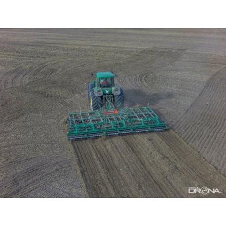 Agregat uprawowy ciężki 8m 6x2 z wałkami